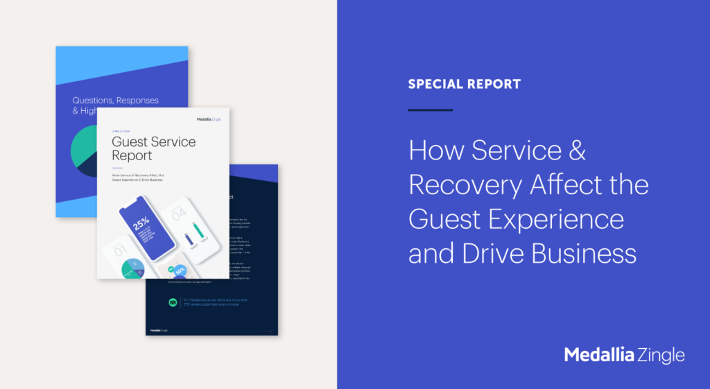 Service Recovery Report for Hotels