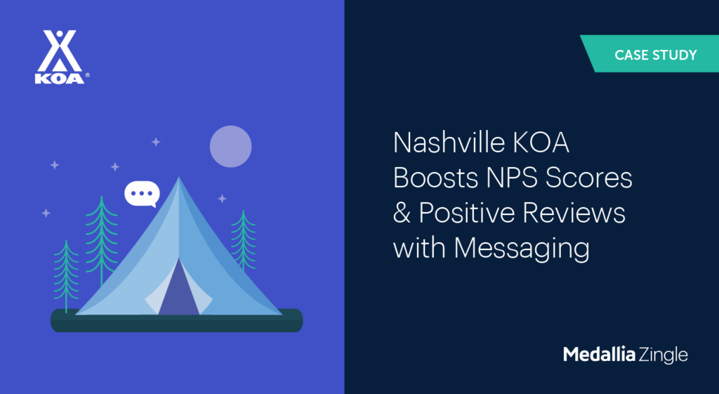 Boost NPS scores with Messaging